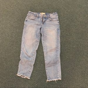 Garage ankle straight jeans size 01